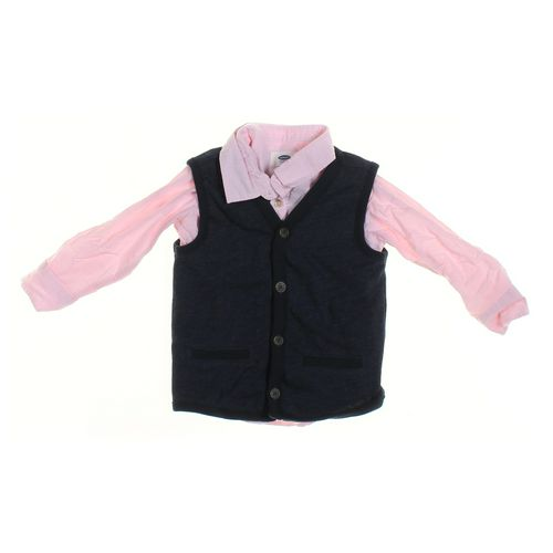 Old Navy Vest & Shirt Set in size 3/3T at up to 95% Off - Swap.com