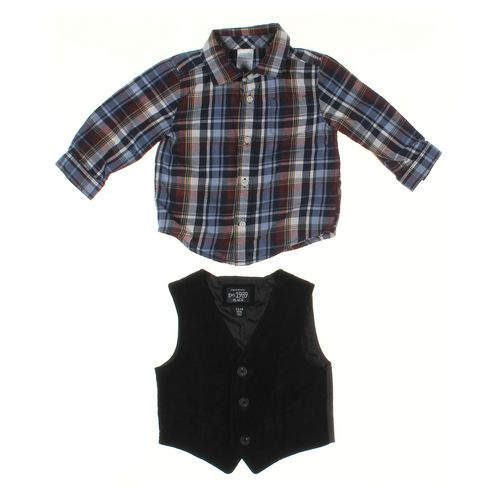 The Children's Place Vest & Shirt Set in size 12 mo at up to 95% Off - Swap.com