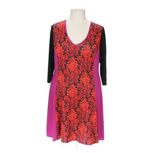 Jete Vibrant Floral Dress in size 1X at up to 95% Off - Swap.com