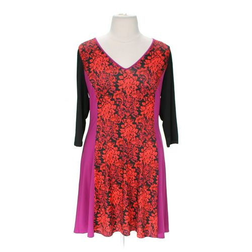 Jete Vibrant Floral Dress in size XL at up to 95% Off - Swap.com
