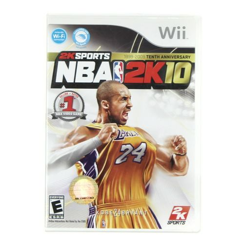 Wii Video Game: 2K Sports NBA 2K10 at up to 95% Off - Swap.com
