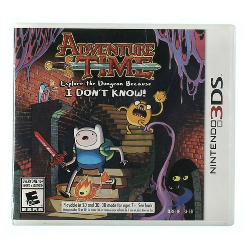 Nintendo 3DS Video Game: Adventure Time at up to 95% Off - Swap.com