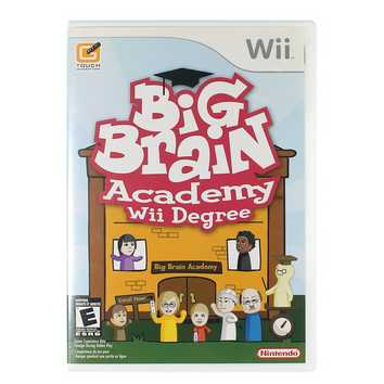Video Game: Big Brain Academy: Wii Degree for Sale on Swap.com
