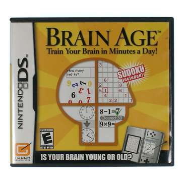 Video Game: Brain Age DS for Sale on Swap.com