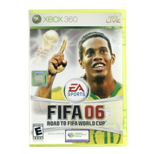 Xbox 360 Video Game: FIFA 06 Road to FIFA World Cup at up to 95% Off - Swap.com