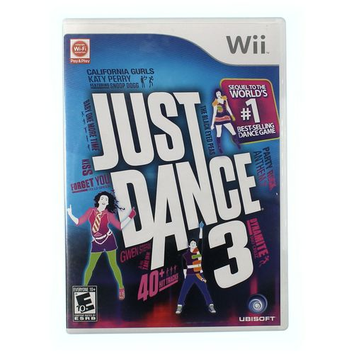 Wii U Video Game: Just Dance 3 (Wii) at up to 95% Off - Swap.com