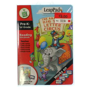 Video Game: Leap Pre-K Letter Circus for Sale on Swap.com