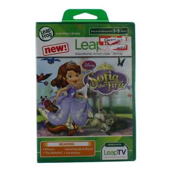 Video Game: LeapFrog Disney Sofia the First Educational Video Game for Sale on Swap.com