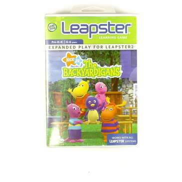 Video Game: LeapFrog Leapster Learning Game Backyardigans for Sale on Swap.com