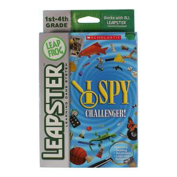 Video Game: LeapFrog Leapster Learning Game Scholastic I Spy for Sale on Swap.com