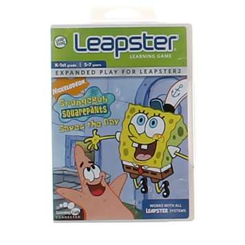 Video Game: LeapFrog Leapster Learning Game SpongeBob SquarePants Saves the Day for Sale on Swap.com