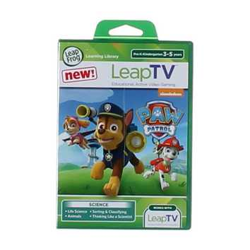 Video Game: LeapFrog LeapTV PAW Patrol: Storm Rescuers Educational, Active Video Game for Sale on Swap.com