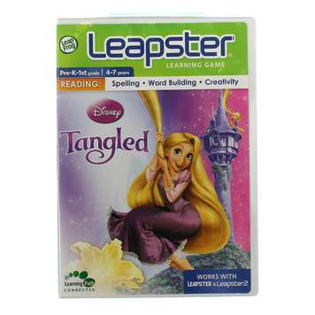 Video Game: Leapster Learning Game: Tangled for Sale on Swap.com
