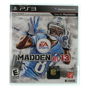 Video Game: Madden NFL 13 - Playstation 3 [Disc, PlayStation 3] for Sale on Swap.com