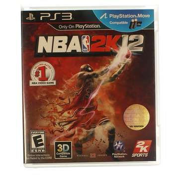 Video Game: NBA 2K12 for Sale on Swap.com