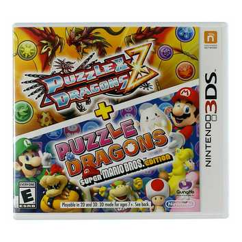 Video Game: Nintendo Puzzle & Dragons Z + Puzzle & Dragons Super Mario Bros. Edition for Sale on Swap.com