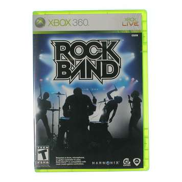 Video Game: Rock Band for XBox 360 [Disc, Game only, Xbox 360] for Sale on Swap.com