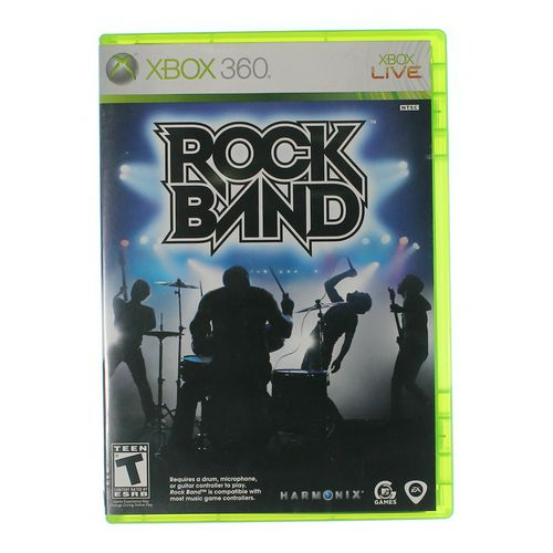Xbox 360 Video Game: Rock Band for XBox 360 [Disc, Game only, Xbox 360] at up to 95% Off - Swap.com