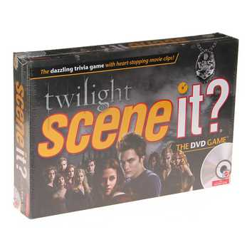 Video Game: Scene It? Trivia DVD Board Game - TWILIGHT with DVD for Sale on Swap.com