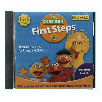 Video Game: Sesame Street First Steps for Sale on Swap.com