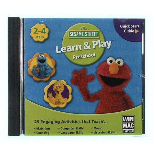 PC Video Game: Sesame Street Learn & Play Preschool at up to 95% Off - Swap.com