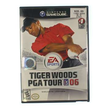 Video Game: Tiger Woods PGA Tour 06 for Sale on Swap.com