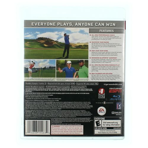 PlayStation 3 Video Game: Tiger Woods PGA Tour 09 at up to 95% Off - Swap.com