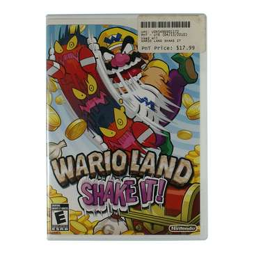 Video Game: Wario Land: Shake It! - Nintendo Wii for Sale on Swap.com