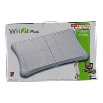 Video Game: Wii Fit Plus with Balance Board for Sale on Swap.com