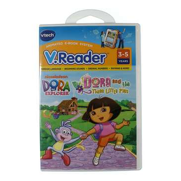 V.Reader Dora and the Three Little Pigs for Sale on Swap.com
