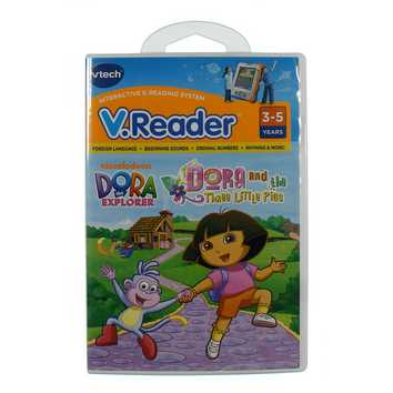 V.Reader: Dora and the Three Little Pigs for Sale on Swap.com