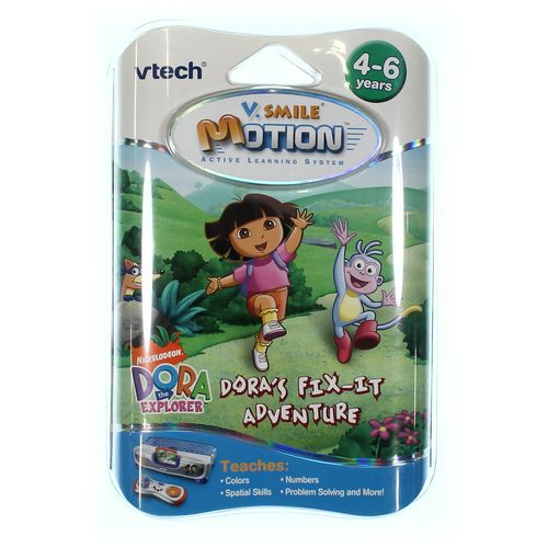 Nickelodeon V.Smile Motion Dora's Fix-It Adventure at up to 95% Off - Swap.com