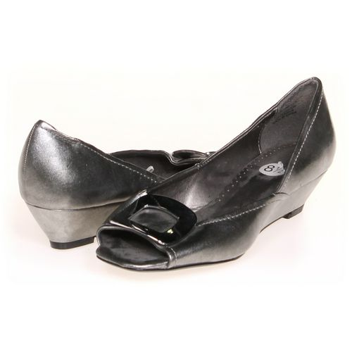 Nicole by Nicole Miller Wedges in size 8.5 Women's at up to 95% Off - Swap.com