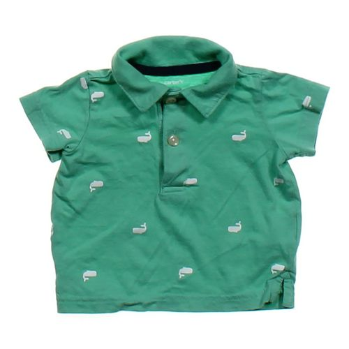 Carter's Whale Patterned Shirt in size 6 mo at up to 95% Off - Swap.com