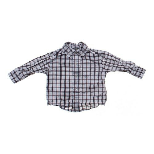 Gymboree Windowpane Long Sleeve Shirt in size 6 mo at up to 95% Off - Swap.com