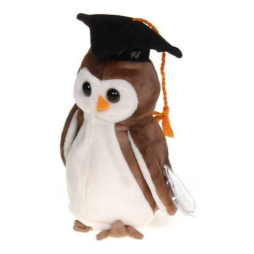 Ty Wise Owl Class of 07 ' 98 Ty Beanie Babies at up to 95% Off - Swap.com