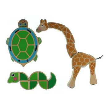 Wooden Animal Toy Set for Sale on Swap.com