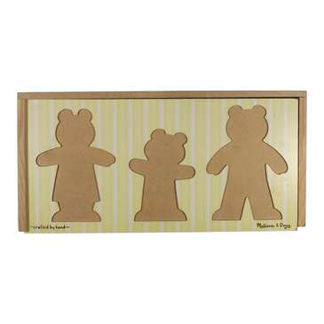 Wooden Bear Family Dress-Up Puzzle for Sale on Swap.com