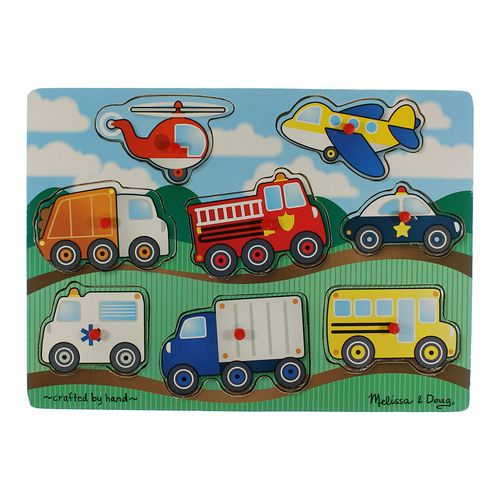 Melissa & Doug Wooden Car Puzzle at up to 95% Off - Swap.com