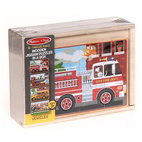 Melissa & Doug Wooden Jigsaw Puzzle at up to 95% Off - Swap.com