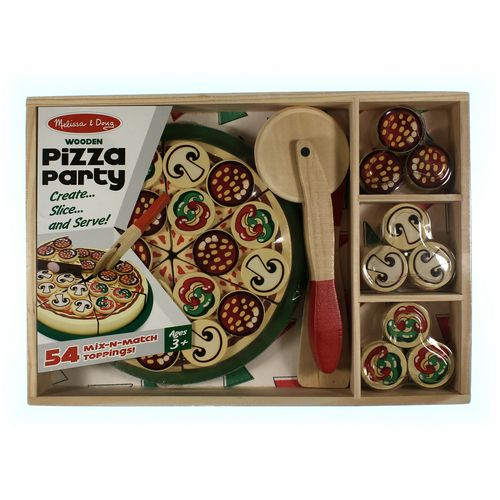 Melissa & Doug Wooden Pizza Party Set at up to 95% Off - Swap.com