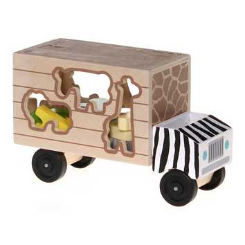 Wooden Shape Sorting Truck for Sale on Swap.com