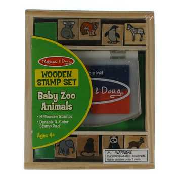 Wooden Stamp Set (Baby Zoo Animals) for Sale on Swap.com