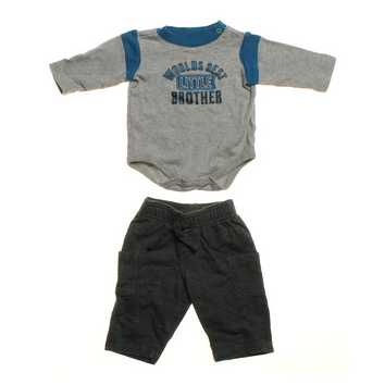 """""""Worlds Best Little Brother"""" Outfit for Sale on Swap.com"""