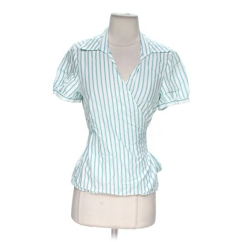 Ann Taylor Wrap Around Shirt in size 8 at up to 95% Off - Swap.com