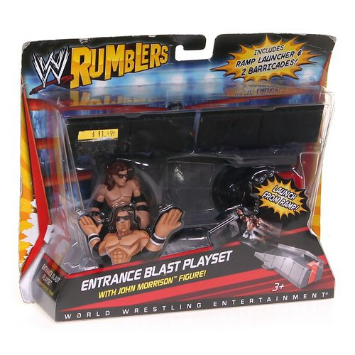 Mattel WWE Rumblers Entrance Blast Playset With John Morrison Figure and Accessory 5 at up to 95% Off - Swap.com