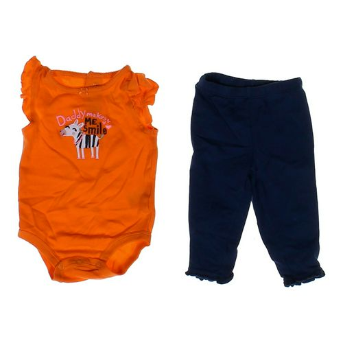 Carter's Zebra Bodysuit & Pants in size 6 mo at up to 95% Off - Swap.com