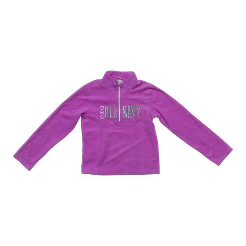 Old Navy Zip Up Fleece Sweatshirt in size 14 at up to 95% Off - Swap.com