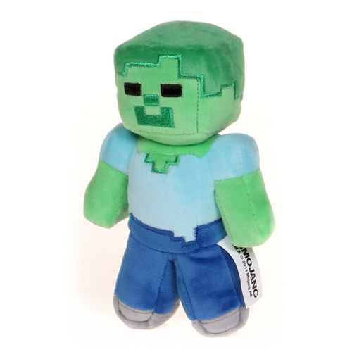 Mojang Zombie Minecraft Plush at up to 95% Off - Swap.com